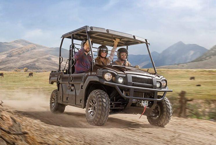 Côte-à-côte Kawasaki Mule Pro-FXT EPS Ranch Edition